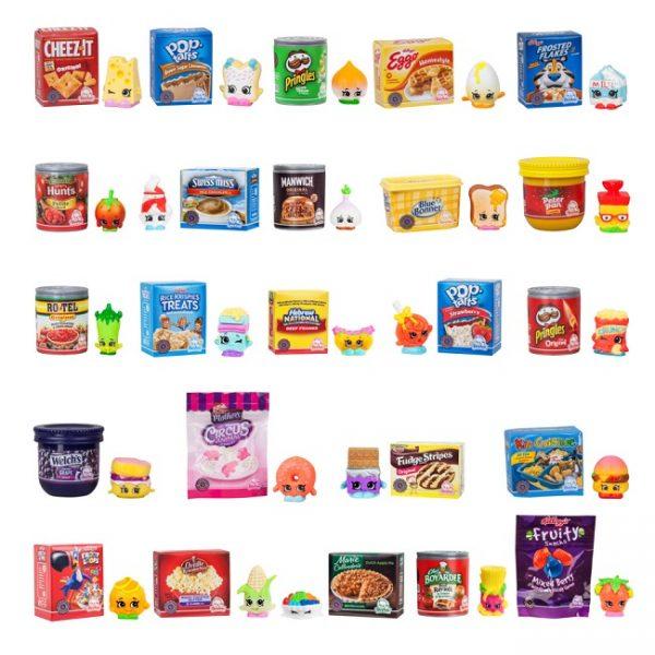 Фигурки Мини пакеты Продукты «Oh So Real Mini Pack» Shopkins Moose