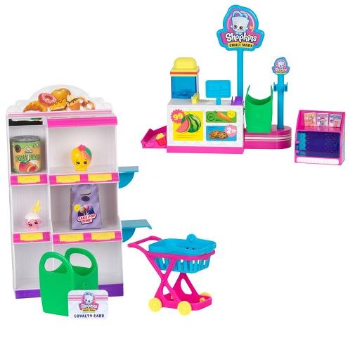 Игровой набор Мини-маркет Pick 'N' Pack Small Mart Shopkins 56753 Moose