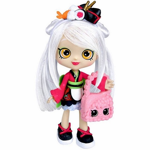 Кукла Сара Суши Shoppies Sarah Sushi Shopkins 56264 Moose